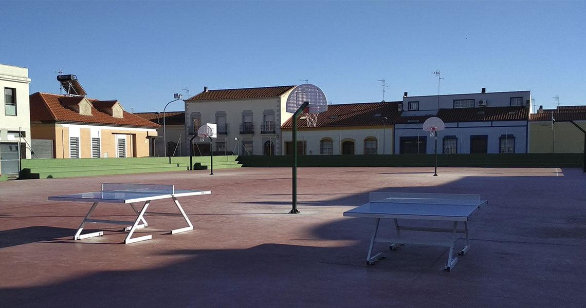 Pista deportiva en Puebla