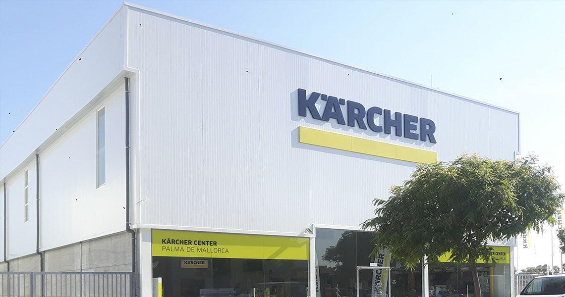 Nave Karcher en Mallorca